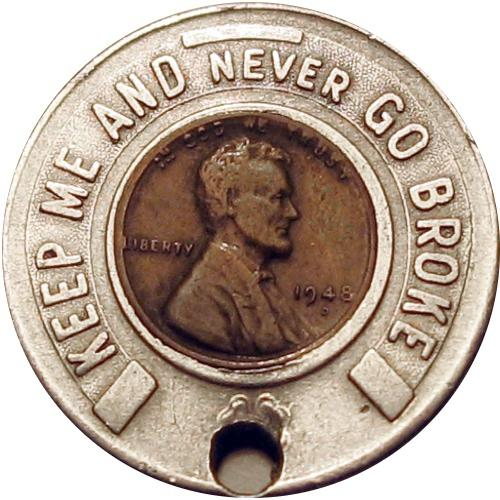 JERSEY CITY, N.J. / Reverse Image TC 414461: KEEP ME AND NEVER GO BROKE